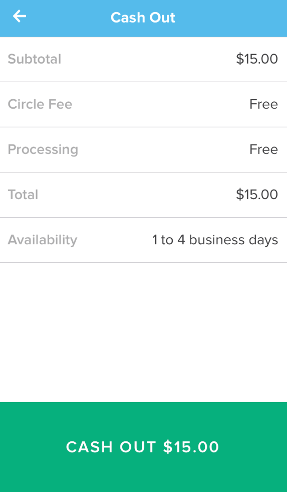 How do I cash out money from my Circle account? – Circle Help Centre